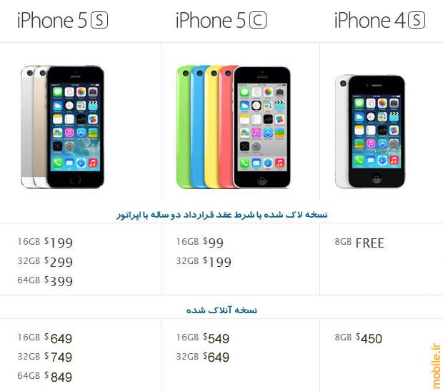قیمت احتمالی آیفون ۶ در ایران