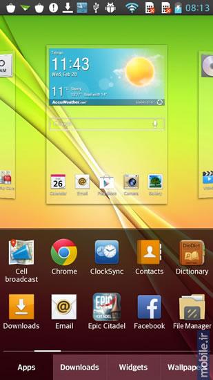 لانچر سامسونگ جی 5 بررسی تخصصی ال جی LG G Pro Lite Dual   پارسی لند
