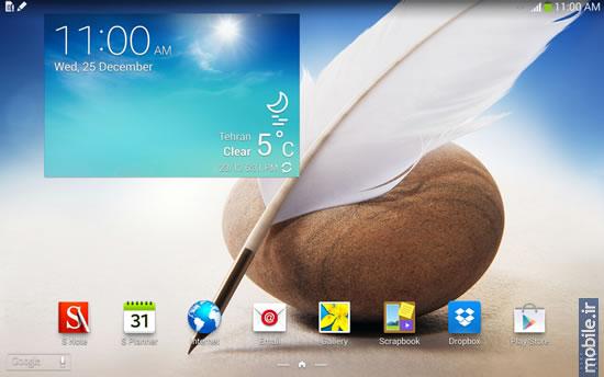 Samsung Galaxy Note 10.1 -سامسونگ گلکسی نوت 10.1 نسخه 2014