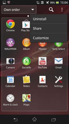 Sony XPERIA SP - سونی اکسپریا اس پی