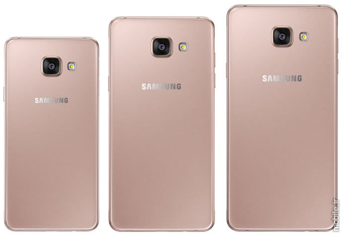 Samsung launches Galaxy A 2016 series