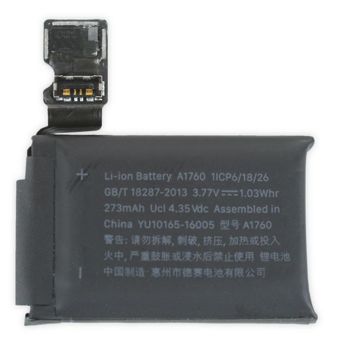 apple watch series 2 battery