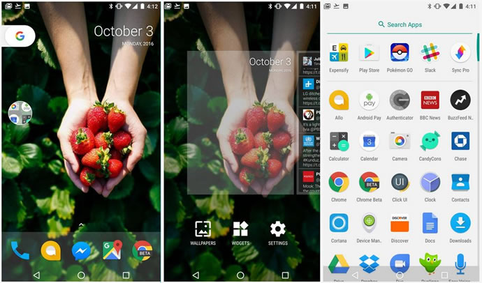 google android nougat 7 1 developer preview features overview