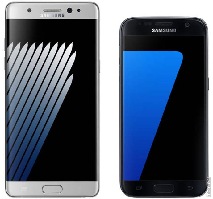 samsung galaxy note7 and galaxy s7