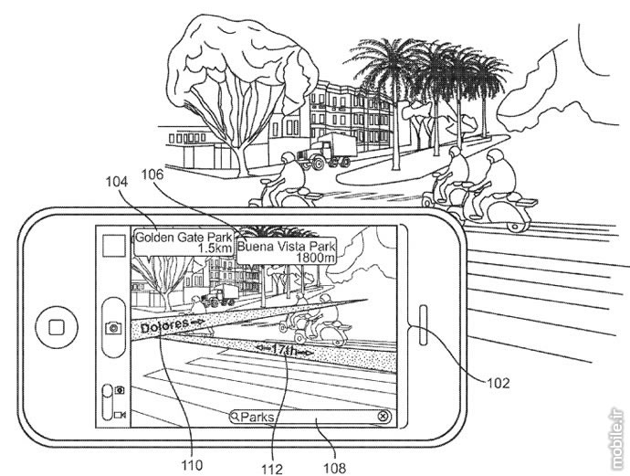 Apple augmented reality mapping system patent