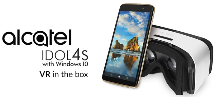 introducing alcatel idol 4s with windows