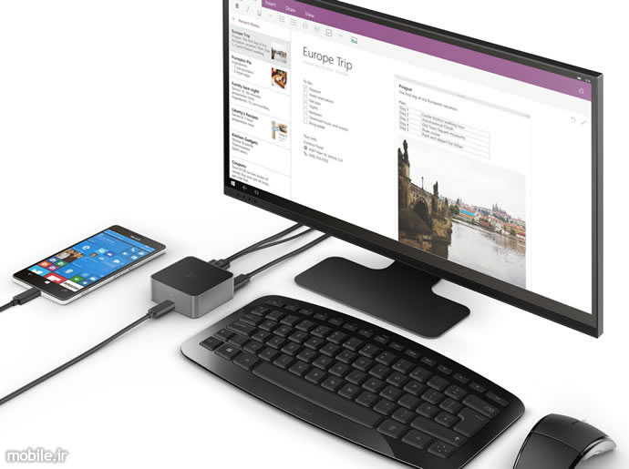 microsoft display dock continuum