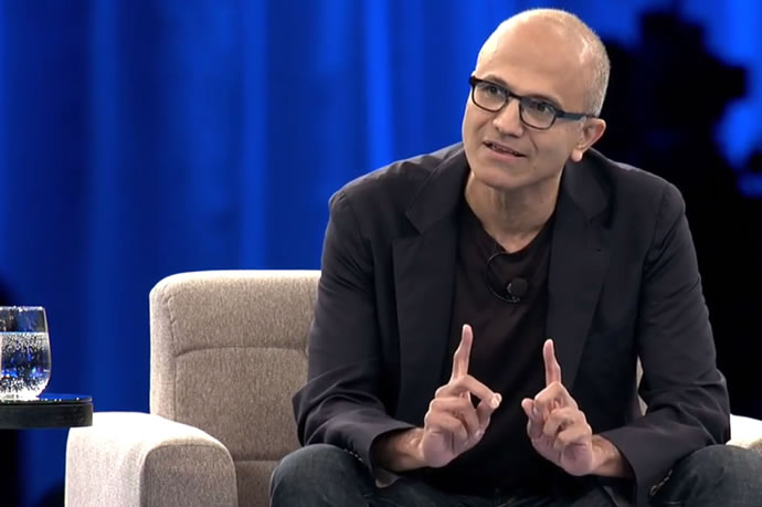 satya nadella interview with the australian financial review