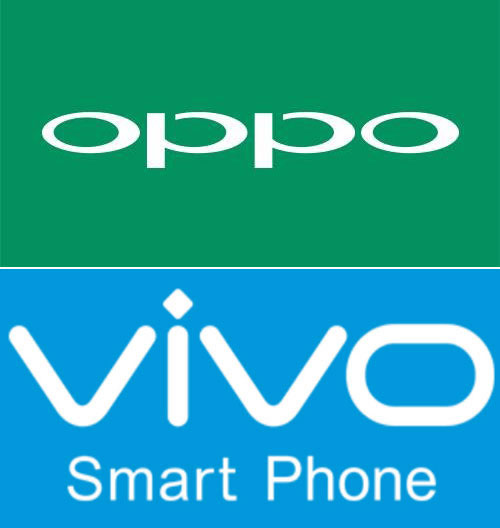 oppo and vivo logo