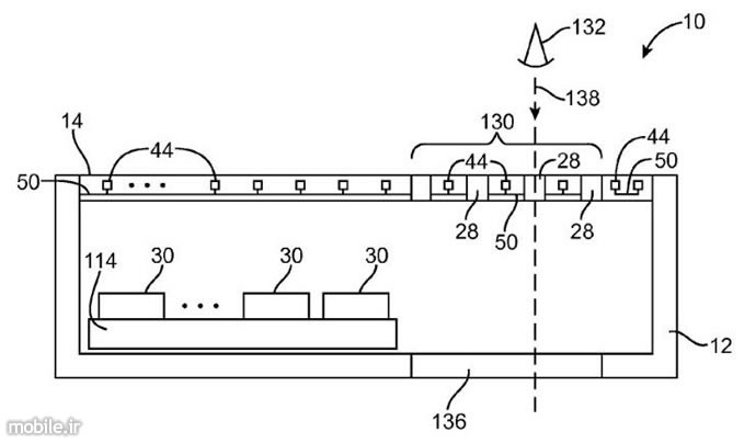 apple edge-to-edge displays with openings patent