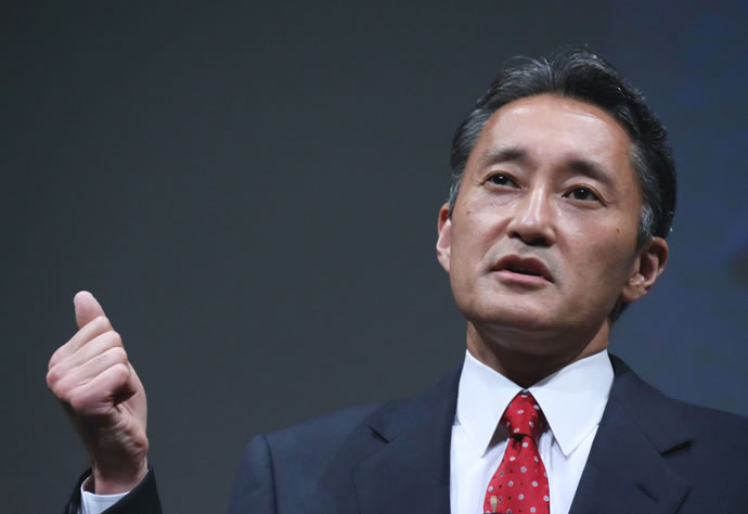 sony chief kazuo hirai interview about future of the company