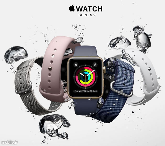 Apple Watch Serties 2  گزارش Strategy Analytics از فروش پوشیدنیها در سهماهه نخست 2017- ارتقای سامسونگ به رتبه دوم apple watch serties 2 04
