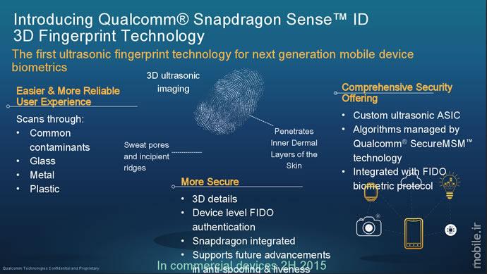 Qualcomm Announced Next Generation Ultrasonic Fingerprint Sensors  معرفی حسگرهای اثر انگشت جدید کوالکام برای قرارگیری زیر شیشه صفحهنمایش qualcomm announced next generation ultrasonic fingerprint sensors 03