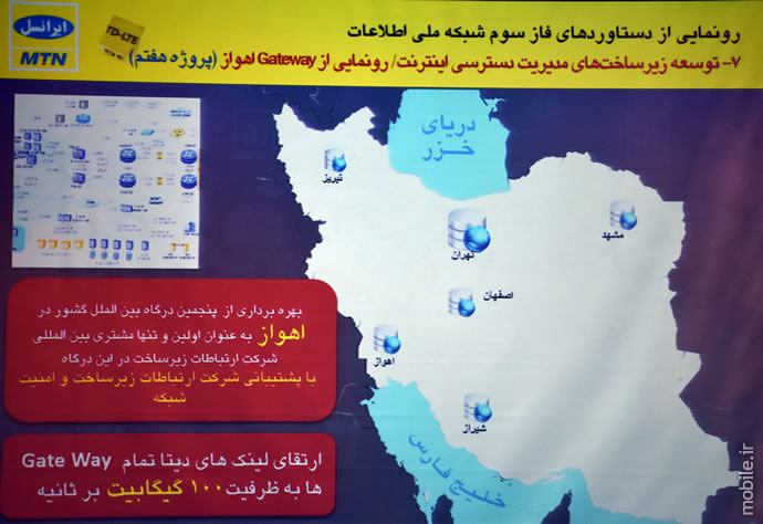 Irancell Introduced 5G Infrastructure and 23 New Projects  افتتاح فاز سوم شبکه ملی اطلاعات و 23 پروژه جدید ایرانسل irancell introduced 5g infrastructure and 23 new projects 11