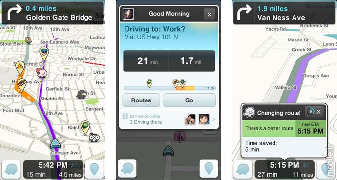 Best GPS and Navigation Apps for Smartphones 2017  بهترین اپلیکیشنهای نقشه و مسیریابی در سال 2017 best gps and navigation app for smartphones 2017 11