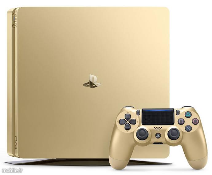 Sony PlayStation 4 Slim 1TB gold Console