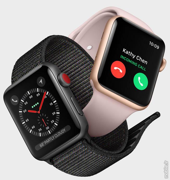Introducing Apple Watch Series 3  معرفی اپل واچ سری 3 – جدیدترین ساعت هوشمند اپل با قابلیت مکالمه introducing apple watch series 3 01