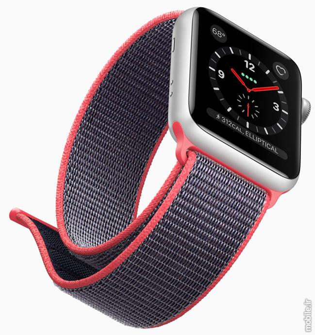 Introducing Apple Watch Series 3  معرفی اپل واچ سری 3 – جدیدترین ساعت هوشمند اپل با قابلیت مکالمه introducing apple watch series 3 02