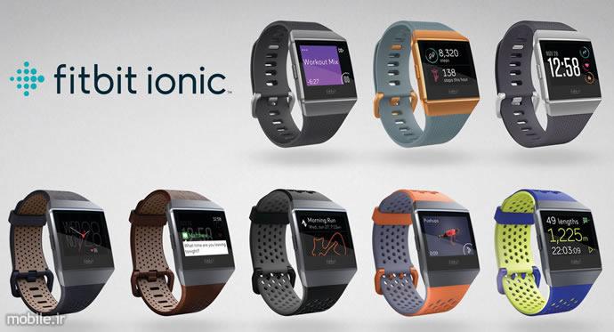Fitbit Ionic  پیشبینی IDC از بازار پوشیدنیها تا سال 2021 – ساعتها محبوبترین دیوایسهای پوشیدنی خواهند بود fitbit ionic 04
