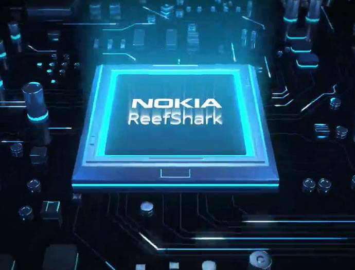 Introducing Nokia ReefShark Chipsets with Massive Performance Gain in 5G Networks