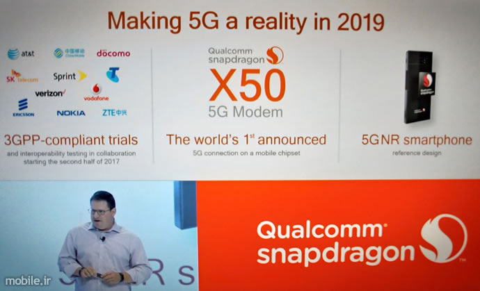 Qualcomm Snapdragon X50 to Feature in a Number of OEM Devices and Mobile Operators
