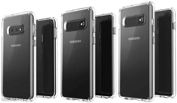 Alleged Samsung Galaxy S10 Family