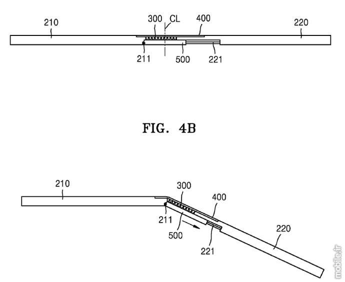Samsung Foldable Display Smartphone Patent