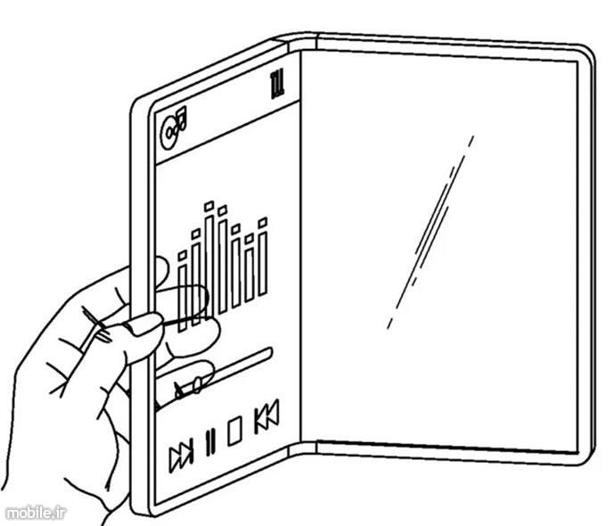 LG Transparent Foldable Phone Patent
