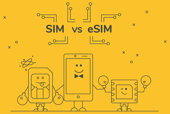 What is an eSIM and How is It Different From a Physical SIM Card