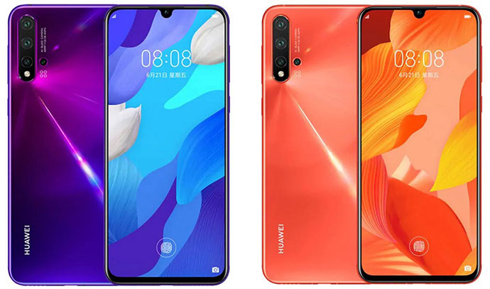 Huawei Nova 5 and Nova 5i