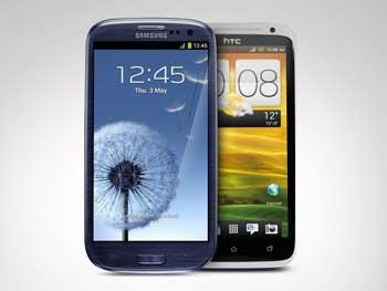 www.writeage.comimagessamsunggalaxysiiivshtconex01.jpg بررسی تخصصی چهار هستهای: Samsung Galaxy S III vs HTC One X